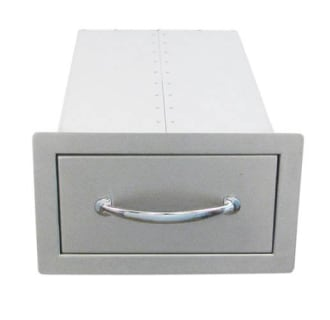 14 Flush Single Access Drawer