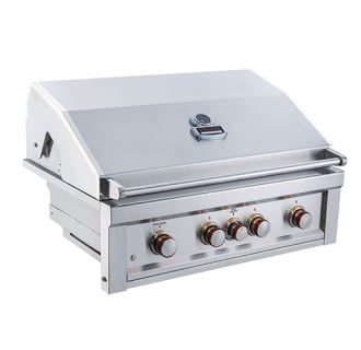Ruby 36 4 Burner Gas Grill with Infrared- Propane