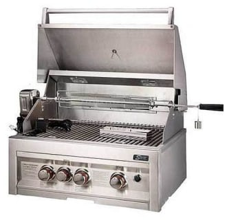 28 3 Burner Gas Grill with Rotisserie