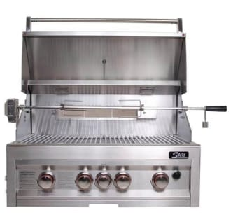 34 4 Burner Gas Grill with Rotisserie