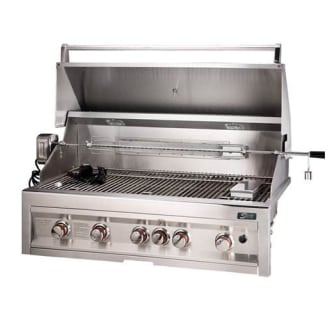 42 5 Burner Gas Grill with Rotisserie