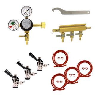 Triple Faucet Commercial Direct Draw Kit