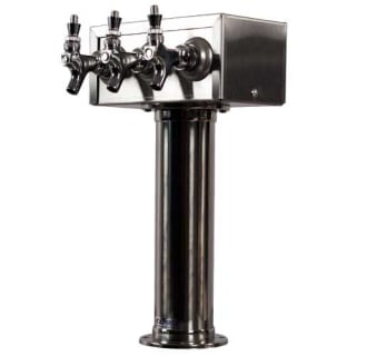 3 Faucet Stainless Steel Air Cooled T Draft Tower