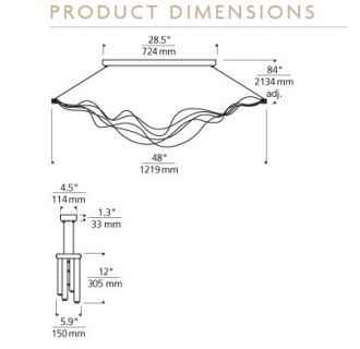 Tech Lighting 700lssurgs Led Satin Nickel Linear