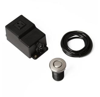 Ticor Ga7 B Brushed Nickel Garbage Disposal Air Switch For