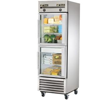 T-Series 23 Cu. Ft. Reach-In Glass Half Swing Door Refrigerator