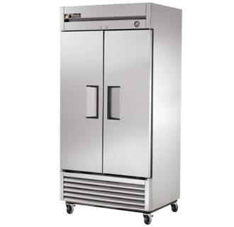 35 Cu. Ft. Reach-In Solid Dual Door Refrigerator