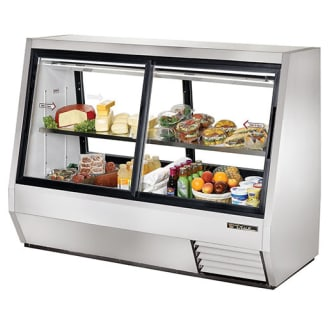 35 Cu Ft. Four Door Double Duty Refrigerated Deli Case