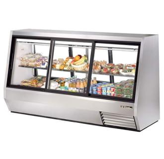 63.5 Cu. Ft. Six Door Double Duty Refrigerated Deli Case