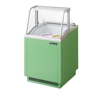 26 Ice Cream Dipping Cabinet-White