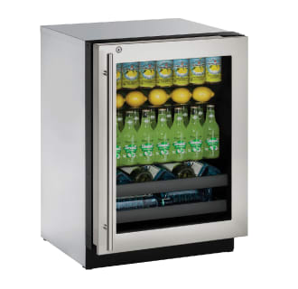 24 Built-In Wine and Beverage Center with Lock