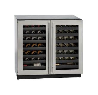 62 Bottle 36 Built-In Wine Captain Dual Zone Wine Cooler