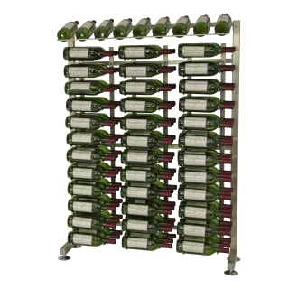 117-Bottle 4-Foot Half-Island Display Rack