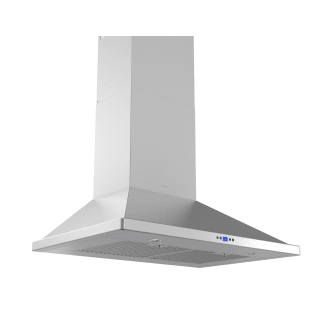 715 CFM 30 Inch Wide Wall Mounted Range Hood with LED Lighting and Baffle Filters from the Essentials Europa Collection