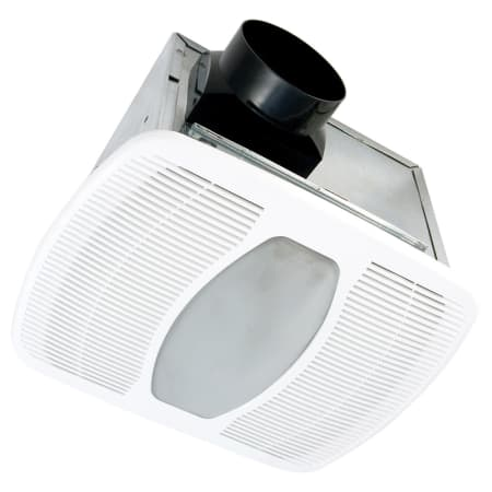 Air King Akf80ls White 80 Cfm Energy Star Rated 0 8 Sone Bath Fan With Fluorescent Light From