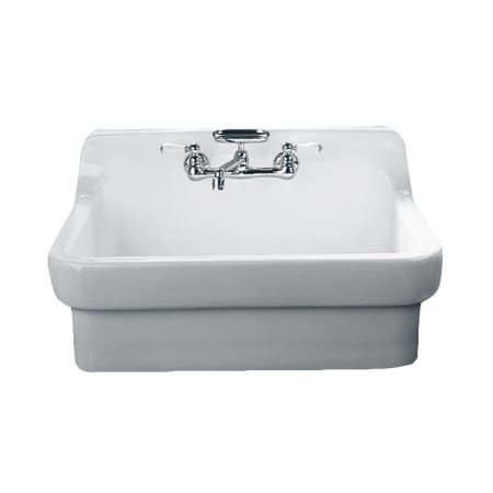 Here's a farmhouse sink that will have the neighbors green with envy! American Standard makes this beauty, and I can imagine it working in a number of timeless country and farmhouse design schemes.