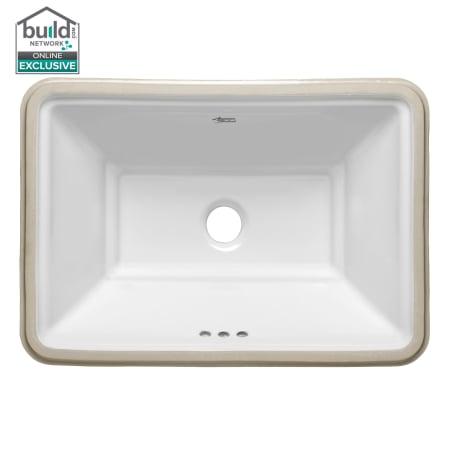 American standard white estate 19 3 4 - American standard undermount bathroom sinks ...