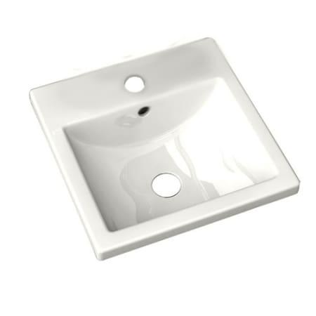 American Standard 0642 001 020 White Studio Carre 16 3 8