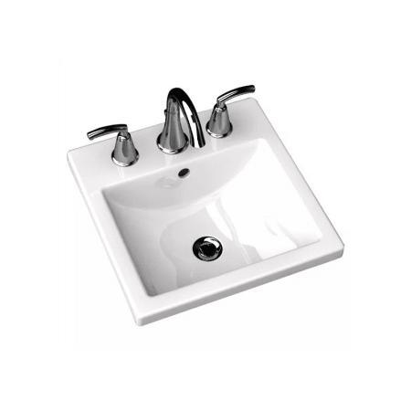 American Standard 0642 008 020 White Studio Carre 16 3 8