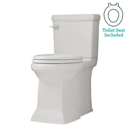 American Standard 2817 128 020 White Town Square Elongated