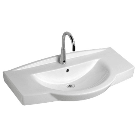American Standard 0145 001 020 White Lucia 35 1 2 Quot Wall