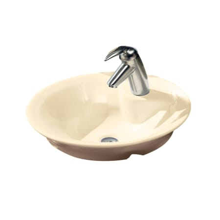 American Standard 0670 312 021 Bone Morning 17 3 4 Quot Vessel