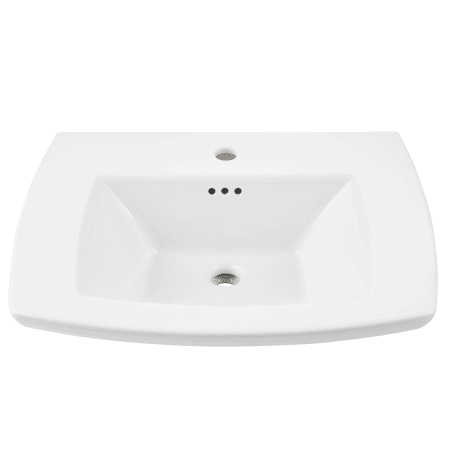 American Standard 0445001 020 White Edgemere 25 Quot Fireclay
