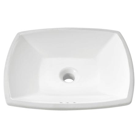American Standard 0545000 020 White Edgemere 18 1 2