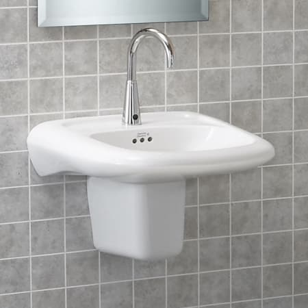 American Standard 0954 004ec 020 White Murro 21 1 4 Quot Wall