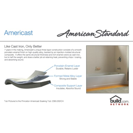 American Standard 2460 002 Soaking Bathtub Build Com