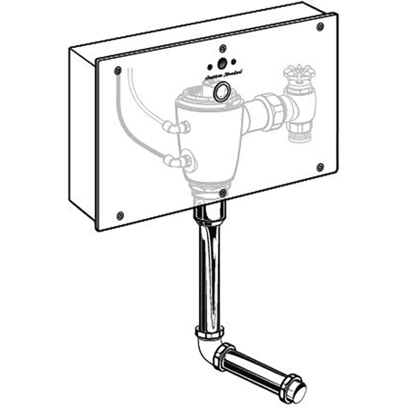American Standard 606b 501 007 N A Selectronic 174 Concealed