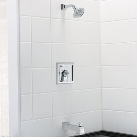 American Standard T555 501 295 Satin Town Square Shower