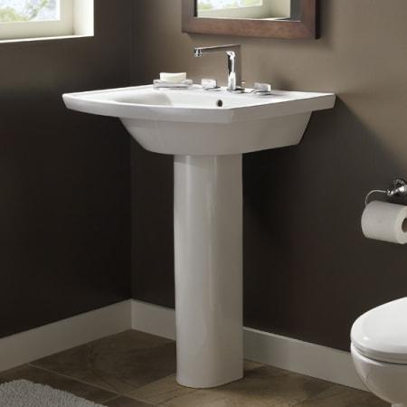 American Standard 0404 004 020 White Tropic Grande Sink