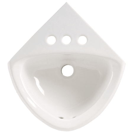 American Standard 0451 001 020 White Corner Mounted Wall