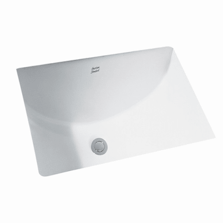 American Standard White Studio 18 1 4 Undermount Porcelain Bathroom Sink