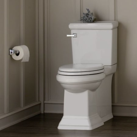 American Standard 3071 000 020 White Town Square Elongated