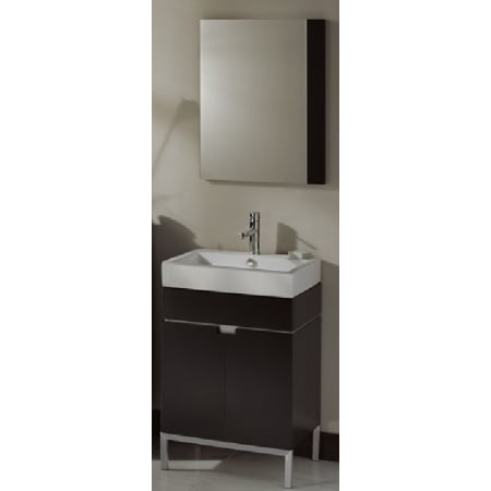 American Standard White Espresso Studio 22 Free Standing Vanity Set With