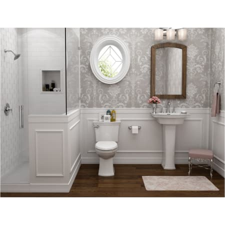 American Standard 207aa 104 020 White Estate Elongated Two