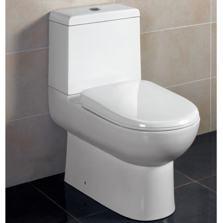 Ariel TB351M Porcelain Platinum Elongated One Piece Toilet with .9 ...