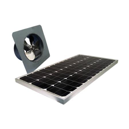 Attic Breeze Ab 605 N A 2050 Cfm Gable Mount 60 Watt Solar