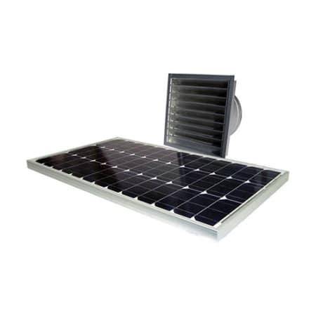 Attic Breeze Ab 606 N A 2050 Cfm Wall Mount 60 Watt Solar