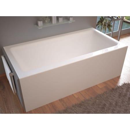 Avano Av3060shr White Sahara 60 Quot Acrylic Soaking Bathtub