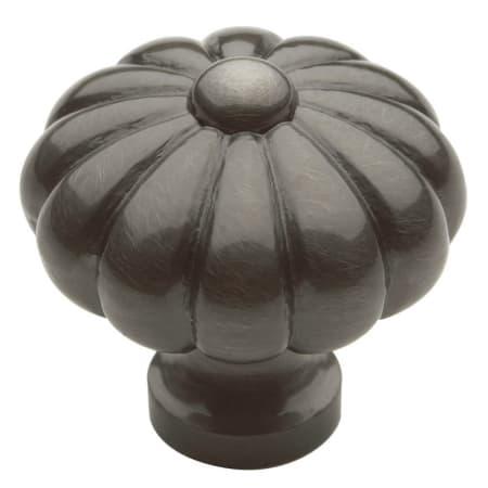 Baldwin 4458151 Antique Nickel Melon 1 3 16 Inch Diameter