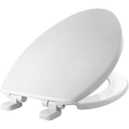Bemis 7300sl 000 White Elongated Closed Front Toilet Seat