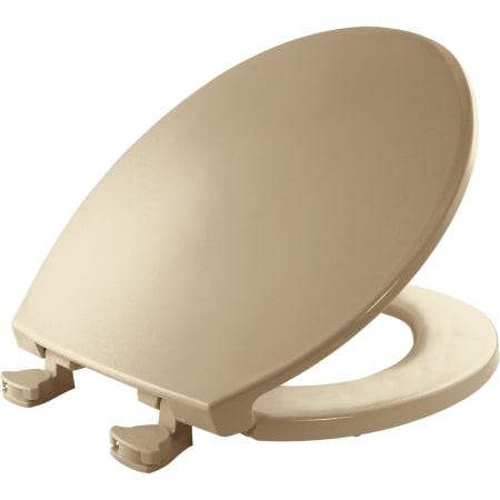 Bemis 800ec 346 Biscuit Round Plastic Toilet Seat With