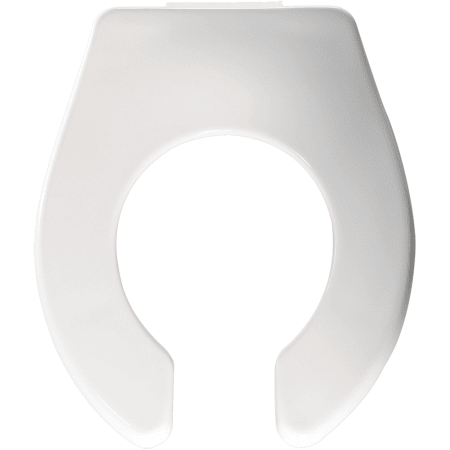 Bemis Bb955ct 000 White Open Front Plastic Baby Bowl