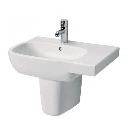 A Large Image Of The Bissonnet Moda 65 R Semi Pedestal White