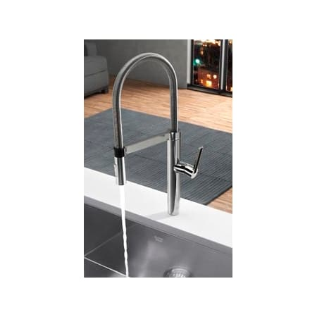 Blanco 441331 Chrome Culina Kitchen Faucet Semi