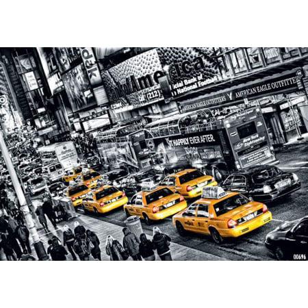 Brewster DM696 Cabs Queue Cabs Queue Wall Mural