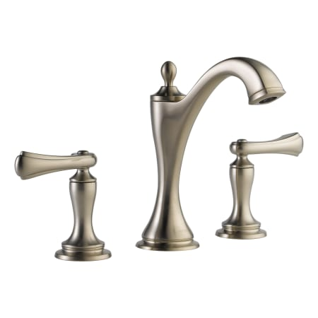 Brizo 65385lf bnlhp brilliance brushed nickel charlotte for Bathroom faucets for less
